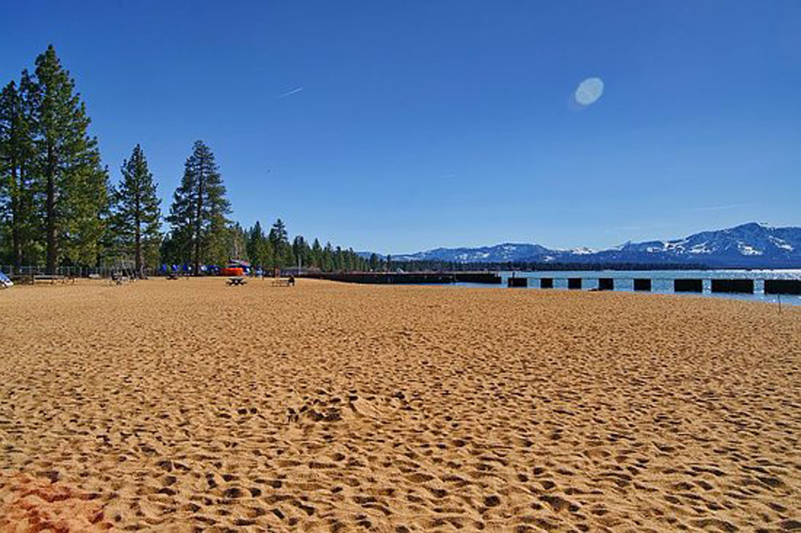 Lakeside Beach on Lake Tahoe